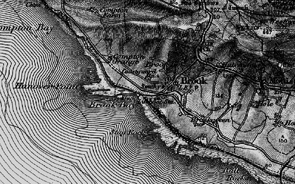Old map of Hanover Point in 1895