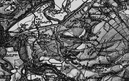 Old map of Brookhouse in 1898