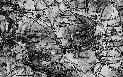 Old map of Adderley in 1897