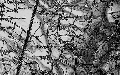 Old map of Wynstones Ho in 1896