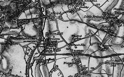 Old map of Broom in 1898