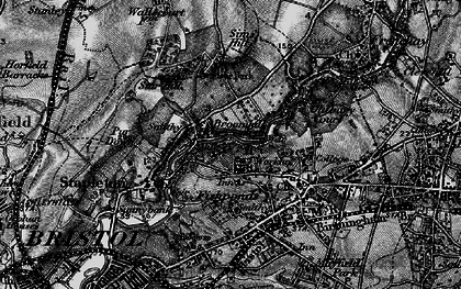 Old map of Broomhill in 1898