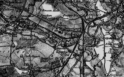 Old map of Aldin Grange in 1898