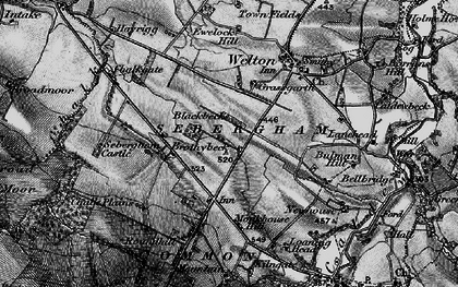 Old map of Thwaites in 1897