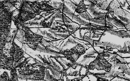 Old map of Broughton in 1897