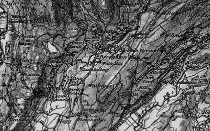 Old map of Ball Hall in 1897