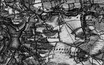 Old map of Whistle Ho in 1898