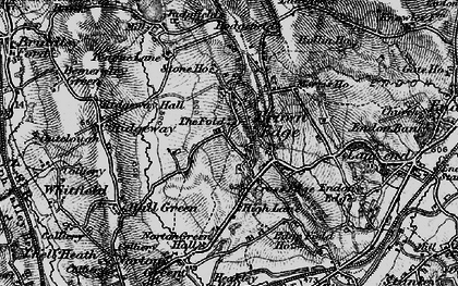 Old map of Brown Edge in 1897