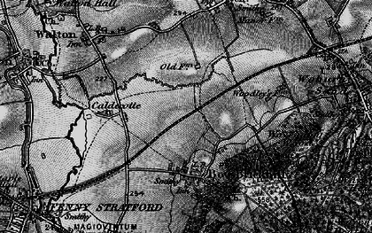 Old map of Browns Wood in 1896