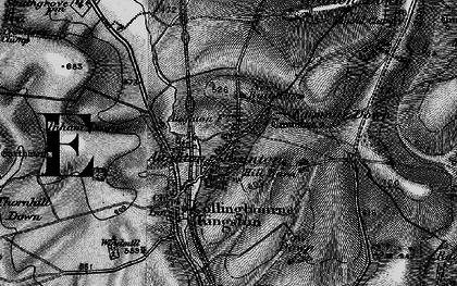 Old map of Brunton in 1898