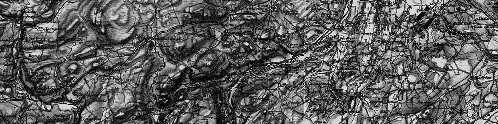 Old map of Allt-y-Celyn in 1897