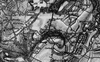 Old map of Buckover in 1897