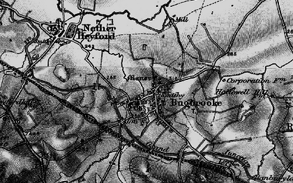 Old map of Bugbrooke in 1898