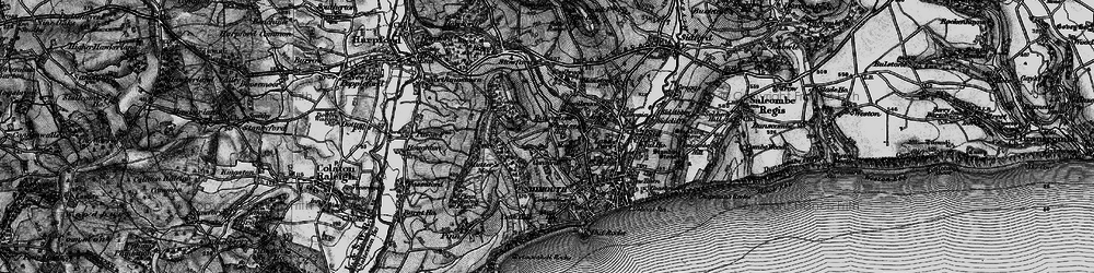 Old map of Wheat Hill in 1897