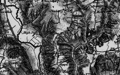 Old map of Wissington Grove in 1896