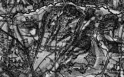 Old map of Adbury Park in 1895