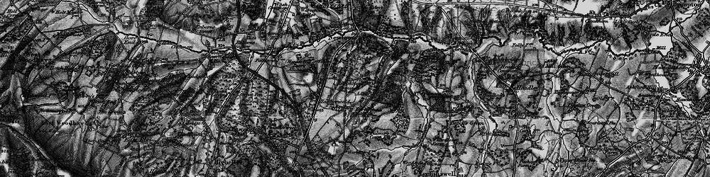 Old map of Adbury Park in 1895