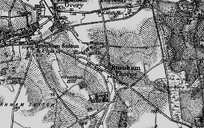 Old map of Leath Ho in 1898