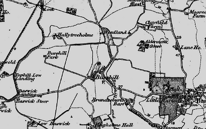 Old map of Westfield in 1897