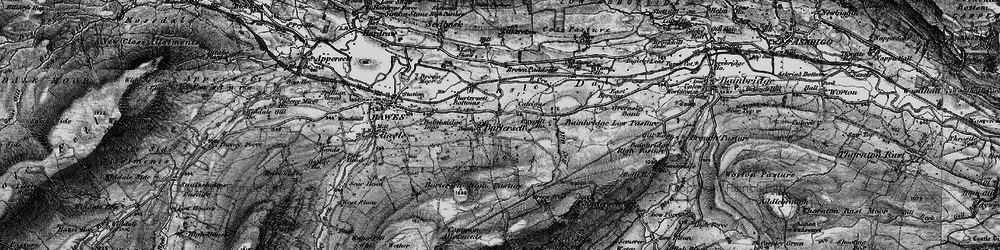 Old map of Yorburgh in 1897