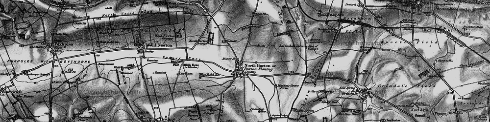 Old map of Willy Howe in 1898