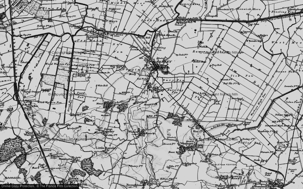 Old Maps of Bury Francis Frith