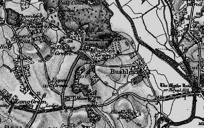 Old map of Windmill Tump in 1898