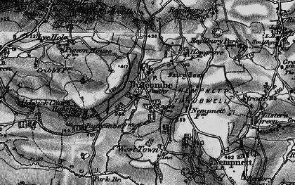 Old map of Butcombe in 1898