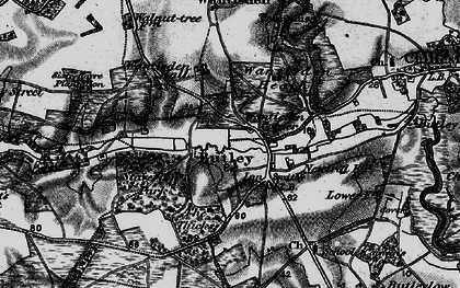 Old map of Butley in 1895