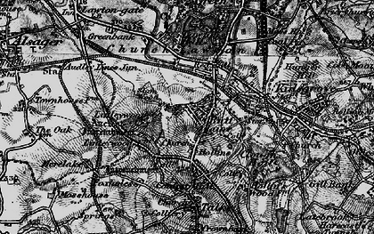Old map of Linley Hall in 1897