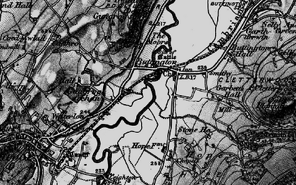 Old map of Buttington in 1897