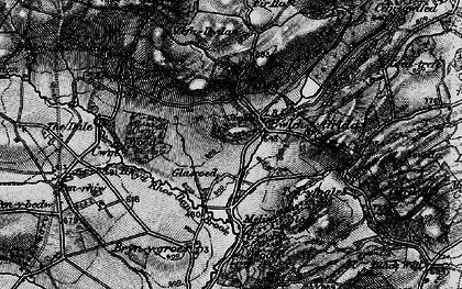 Old map of Bwlch-y-ffridd in 1899