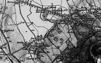 Old map of Bye Green in 1895