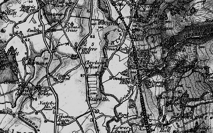 Old map of Lingart in 1896