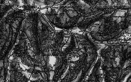 Old map of Cade Street in 1895