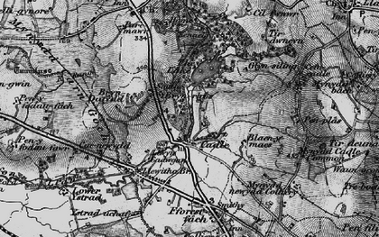 Old map of Cadle in 1897