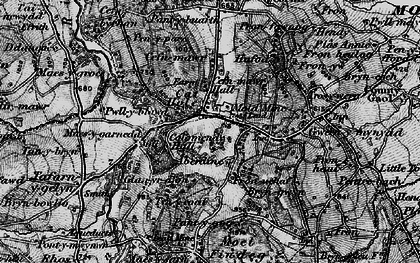 Old map of Cadole in 1897