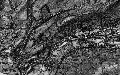 Old map of Cae'r-Lan in 1898