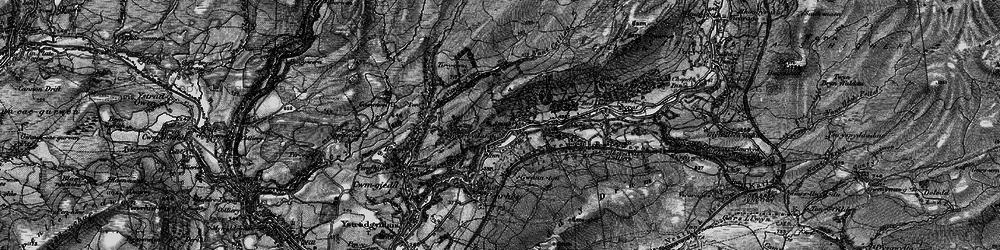 Old map of Tir-y-cwm in 1898