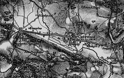 Old map of Caerwent in 1897