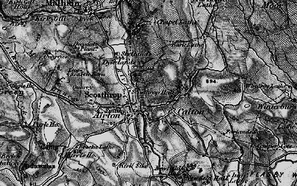 Old map of Calton in 1898