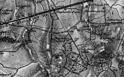 Old map of Calvert in 1896