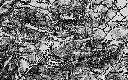 Old map of Whitsunden in 1895