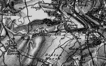 Old map of Cameley in 1898