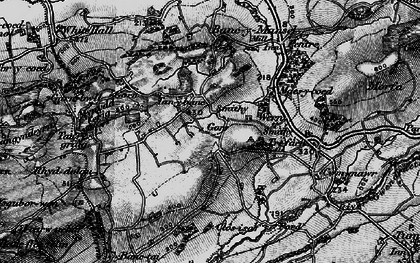 Old map of Capel Seion in 1897