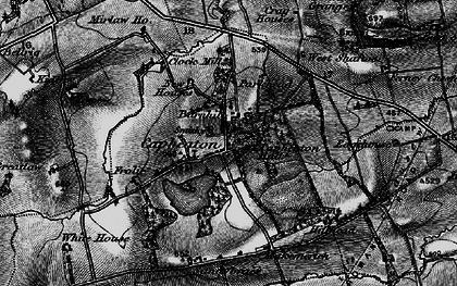Old map of West Shaftoe in 1897