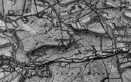 Old map of Tinker Hill in 1896