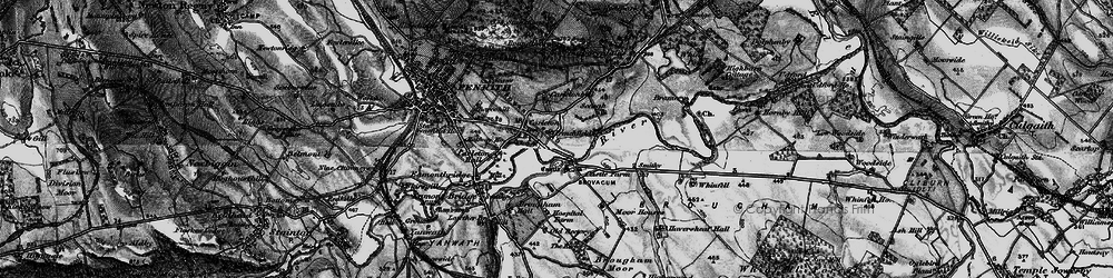 Old map of Whinfell Park in 1897