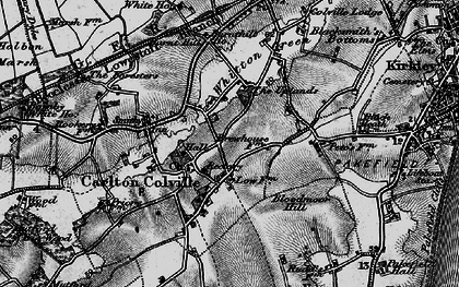 Old map of Carlton Colville in 1898