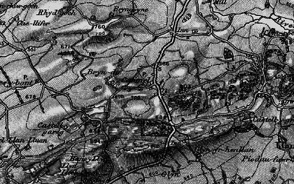 Old map of Carmel in 1898
